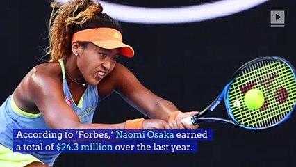 Naomi Osaka Named the Second Highest-Paid Female Athlete
