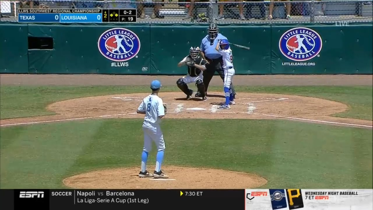 Little League World Series 2019 Southwest Regional Championship -Texas vs Louisiana- LLWS Highlights