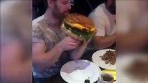 Vous pourriez manger ce burger ???