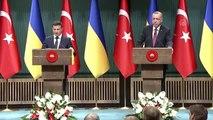"""Zelenskiy: """"Türk iş dünyasını Ukrayna'ya memnuniyetle davet etmek istiyorum"""""""
