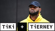 Tiki and Tierney: Is Lebron James overreacting on new NCAA criteria for agents?