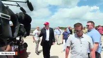 Trump Slams Sen. Brown And Mayor Whaley For 'Fraud' News Conference After His Dayton Visit