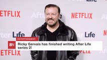 Ricky Gervais Is In The Writing Room