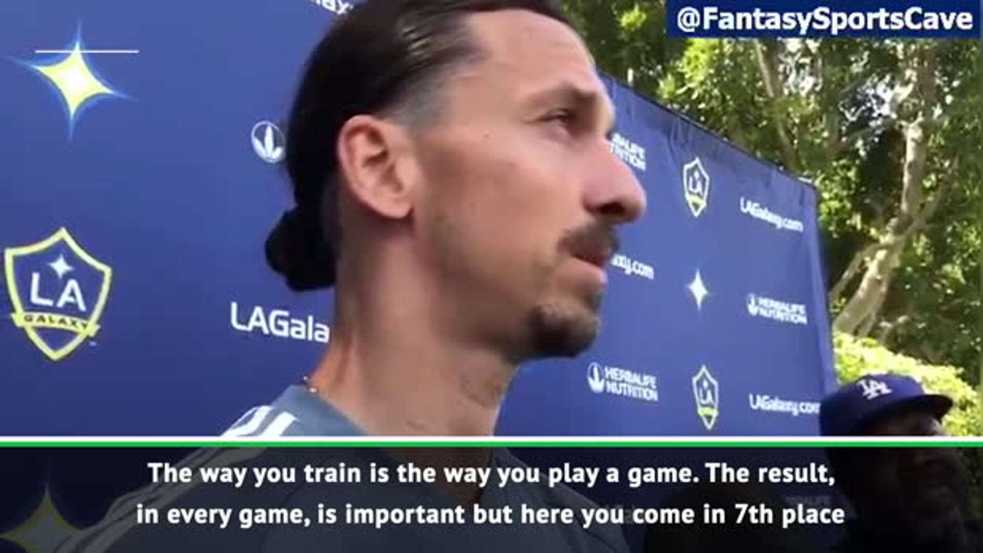 Zlatan uses four letter word to describe MLS play-offs