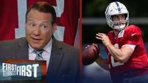 Eric Mangini has concerns on Andrew Luck's injury, talks Kyler Murray - NFL - FIRST THINGS FIRST