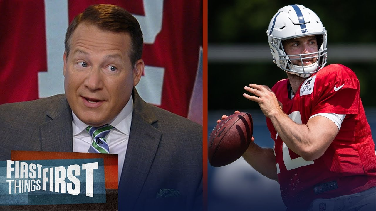 Eric Mangini has concerns on Andrew Luck's injury, talks Kyler Murray – NFL – FIRST THINGS FIRST