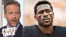 Antonio Brown will regret leaving the Steelers for the Raiders - Max Kellerman - First Take