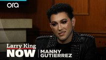 Makeup artist Manny Gutierrez went to therapy after coming out to his parents