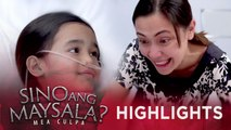 Fina is overjoyed to discover that she is a compatible donor for Joy | Sino Ang Maysala