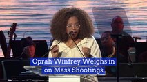 Oprah Winfrey Speaks Out About Mass Shootings