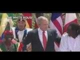 Bush danse sur du djembe