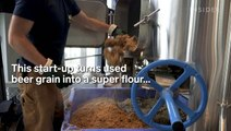 This start-up turns used beer grain into a super flour
