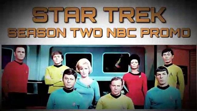 Star Trek Season 2 NBC Promo