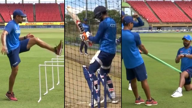 IND V WI 2019,1st ODI:Team India Gears Up For 1st ODI After Whitewashing T20 Series|Oneindia Telugu
