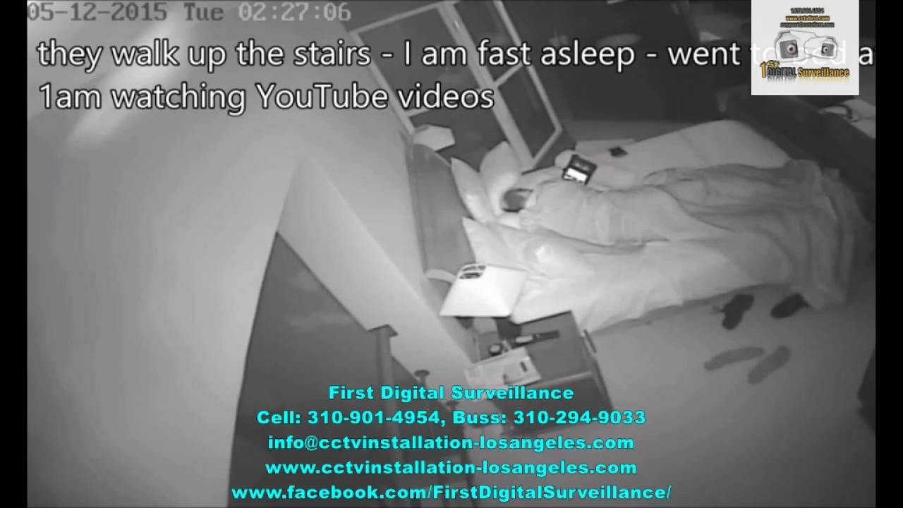 Robbery in house Girlshoots CCTV Video – Residential security cameras los angeles
