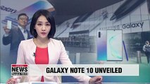 Samsung Electronics unveils Galaxy Note 10, souped-up Note 10 Plus
