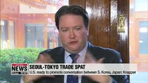 U.S. calls for 'creative approach' in resolving Seoul-Tokyo trade spat
