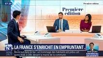 La France s'enrichit en empruntant