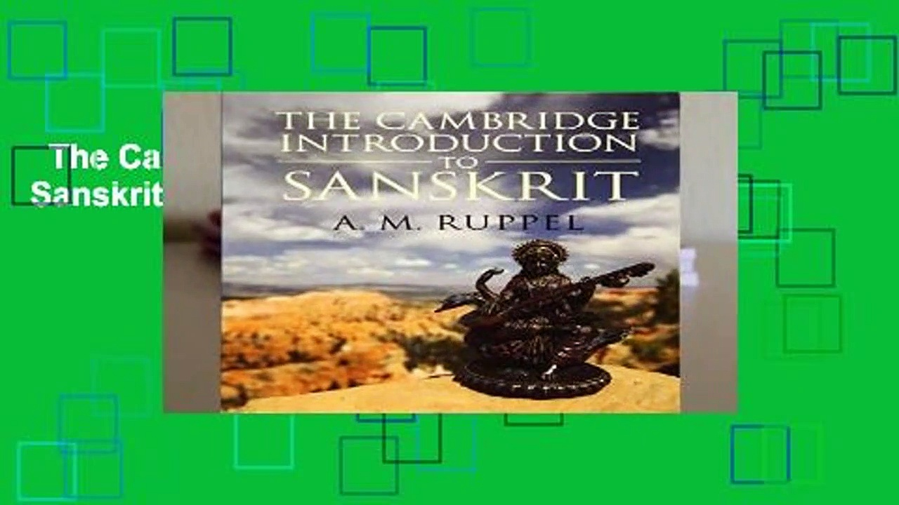 The Cambridge Introduction to Sanskrit Complete