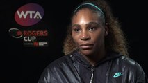 ''That was my goal'' - Serena Williams top-ranked US player again after Rogers Cup first round win