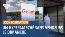 Cet hypermarché à Angers ouvrira ses portes le dimanche après-midi, mais sans ses caissiers