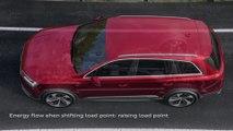 Audi Q7 48 V mild-hybrid system Animation
