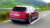 Audi Q7 in Matador Red Driving Video