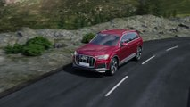 Audi Q7 Air suspension with electromechanical active roll stabilization Animation