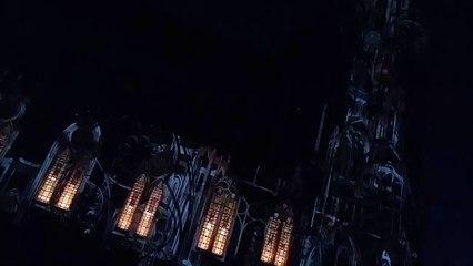 """Un extrait du spectacle """"Ascendance"""" sur la cathédrale de Toul"""