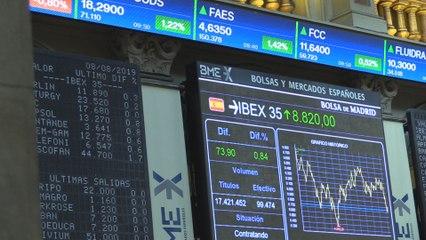 El Ibex 35 recupera los 8.800 puntos y avanza un 0,93% en la apertura