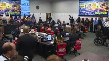 President Trump meets first responders in El Paso