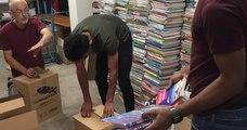 Devenus obsolètes suite à la nouvelle réforme du lycée, des manuels scolaires vont partir pour l'Afrique