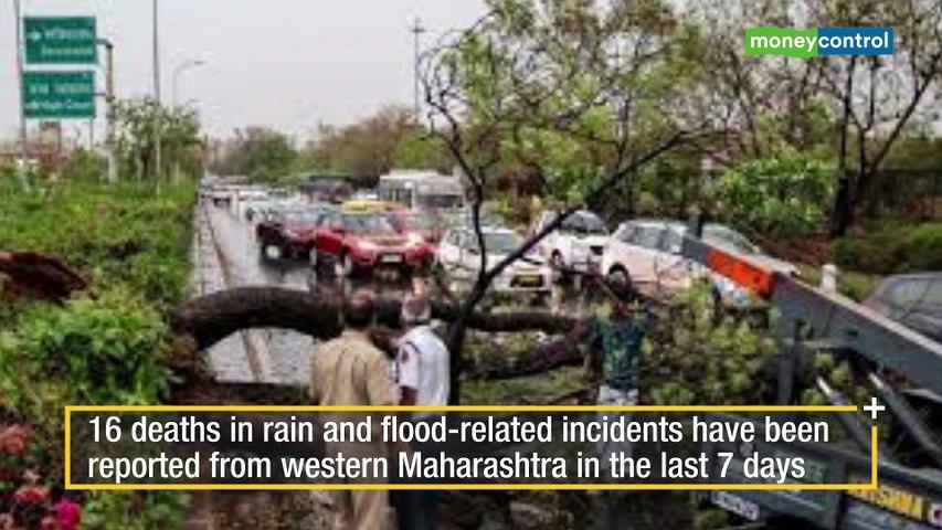 Heavy rains lash large parts of India, situation grim in Maharashtra, Karnataka