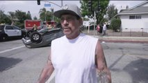 Danny Trejo saves baby trapped in overturned car