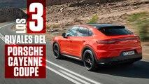 VÍDEO: Porsche Cayenne Coupé, estos son sus tres rivales más duros