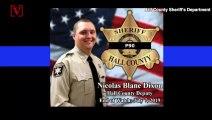 Georgia Deputies Walk Son Of Fallen Deputy To First Day Of School