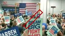 Elizabeth Warren and Beto O'Rourke: Trump Is a 'White Supremacist'