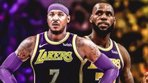 NBA Players React To Carmelo Anthony Signing With Lakers & Joining LeBron James
