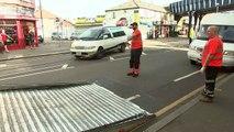 Eyewitnesses describe police machete attack