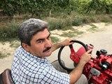 Köyde kullanmak için kendi tarım aracını yaptı