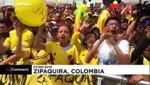 Retour en grande pompe pour Egan Bernal en Colombie