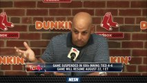 Alex Cora On Losing San Diego Off Day: 'No Golfing Or Sea World Or Legoland'
