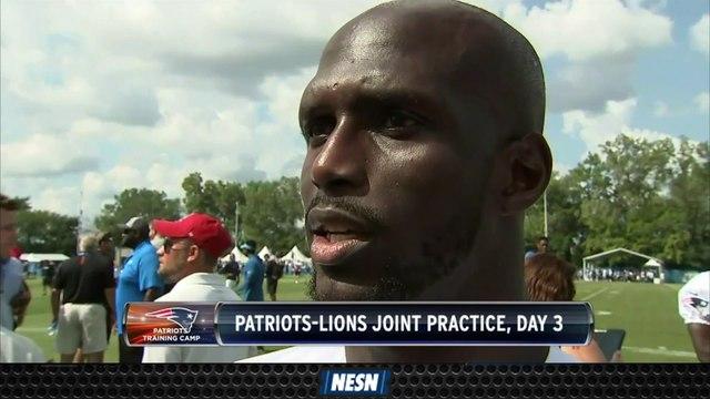 Jason McCourty, Phillip Dorsett Preview Patriots Vs. Lions