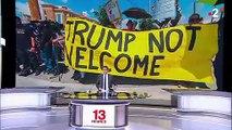 Visite mouvementée de Donald Trump à El Paso