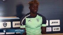 Avant Troyes - HAC, interview de Jamal Thiaré