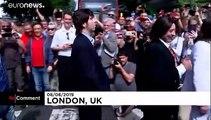 Les fans des Beatles se retrouvent sur Abbey Road pour les 50 ans du cliché