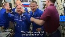 ESA astronaut Luca Parmitano's first report on life onboard the International Space Station