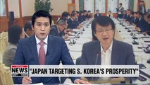 Abe wants to undo S. Korea's economic achievements: S. Korean official