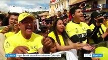 Egan Bernal, le héros colombien de retour au pays