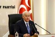 Milliyetçi Hareket Partisi Genel Başkanı Devlet Bahçeli Açıklaması